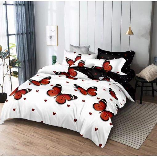 Kékes lilás ágyneműhuzat garnitúra 7 részes