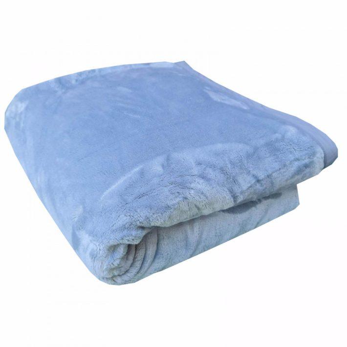 Farkasokkal táncoló kék pléd 200 x 240 cm