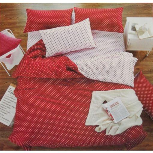 Valenti napi piros pöttyös ágynemű 7 részes