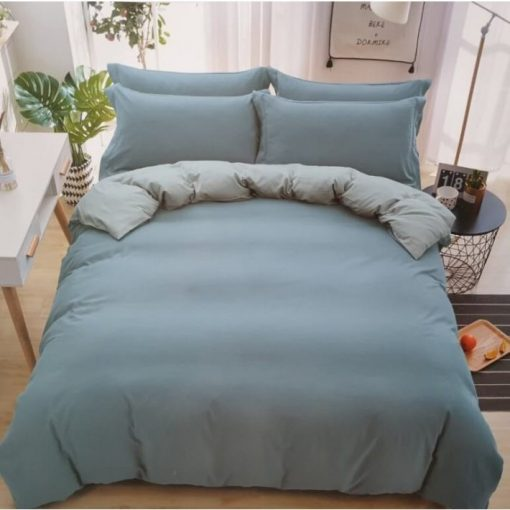 Luciana pamut Zöld Krém ágynemű 7 részes garnitúra