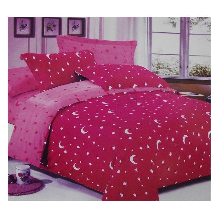 Pillangóvirág Pink Rózsaszín Pamut Ágyneműhuzat 7 részes garnitúra