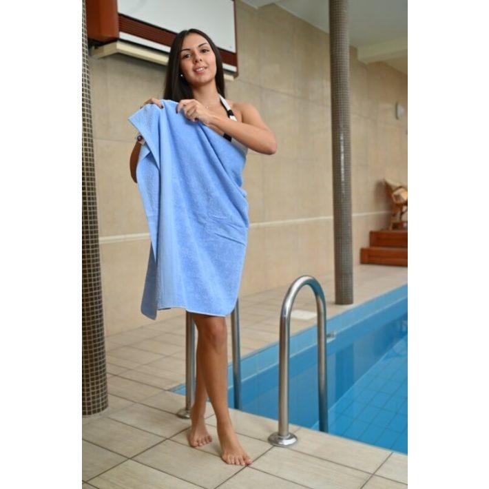 Sármen Frottír Világos kék Törölköző