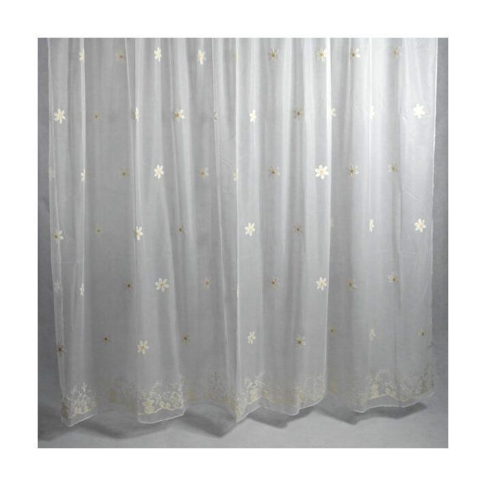 Fátyolvirág Fehér Organza Függöny 250 x 300