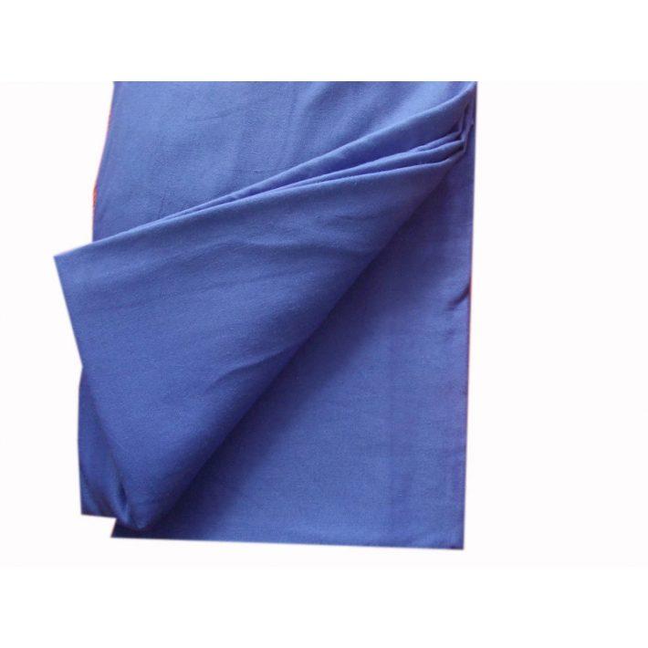 Mimóza Kék Vászon Lepedő 230 x 240 cm