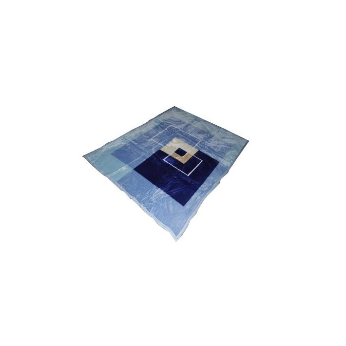 Greg Kék-Fehér Pléd Ágytakaró 150 x 200 cm