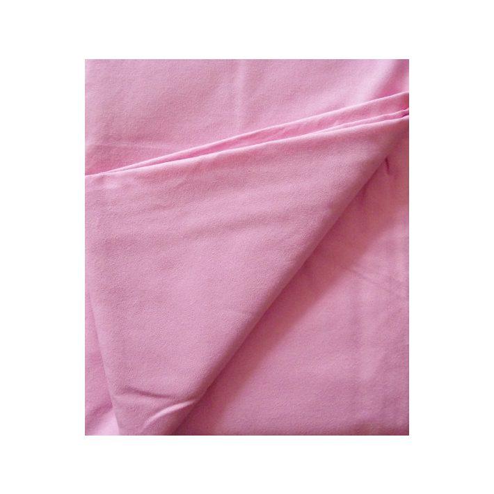 Tekla Rózsaszín Vászon Lepedő 160 x 230 cm