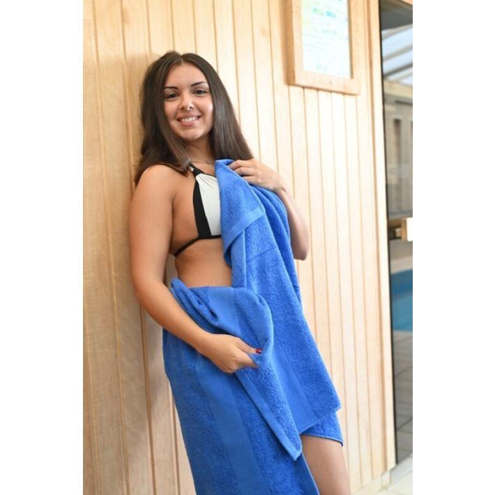 Nara Frottír Kék Törölköző