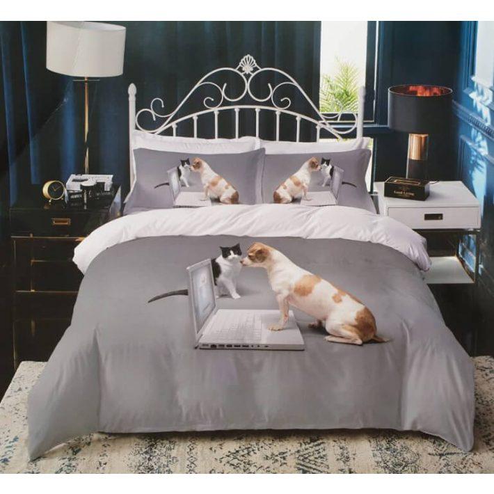 Murcia 3D kölyök leopárd ágyneműhuzat 7 részes
