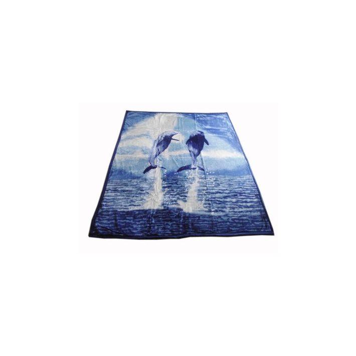 Paddy Delfines Kék Ágytakaró Pléd 200 x 240 cm