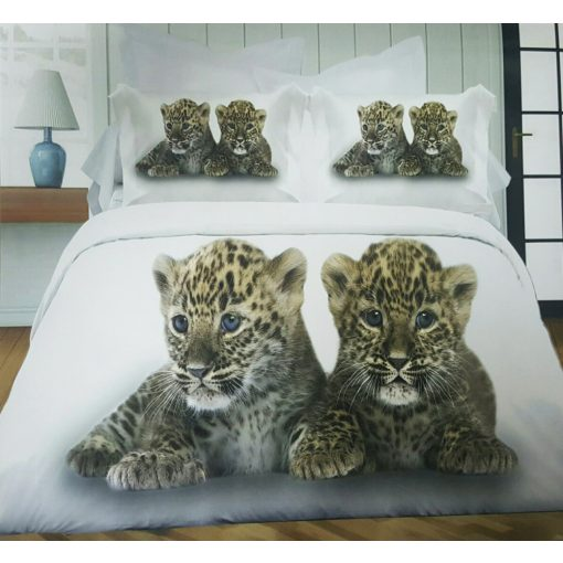 Kelo 3D Leopárd ágynemű garnitúra