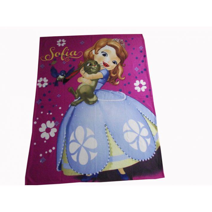 Sofi hercegnő Disney polár pléd takaró 120x150cm
