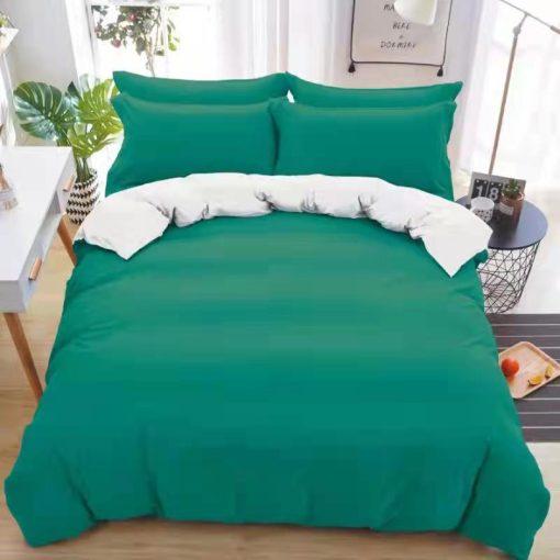 Tűrkíz kék ágynemű garnitúra 3 részes