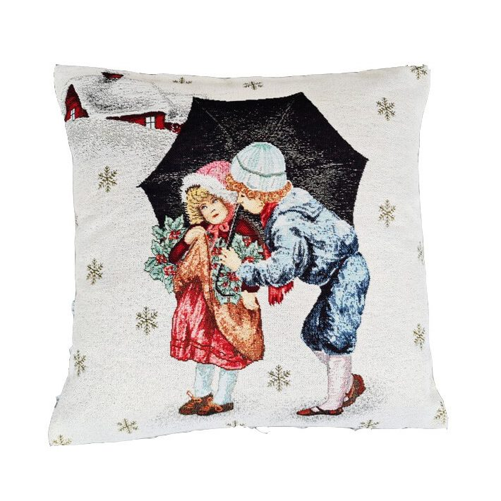 Télapó karácsony díszpárna