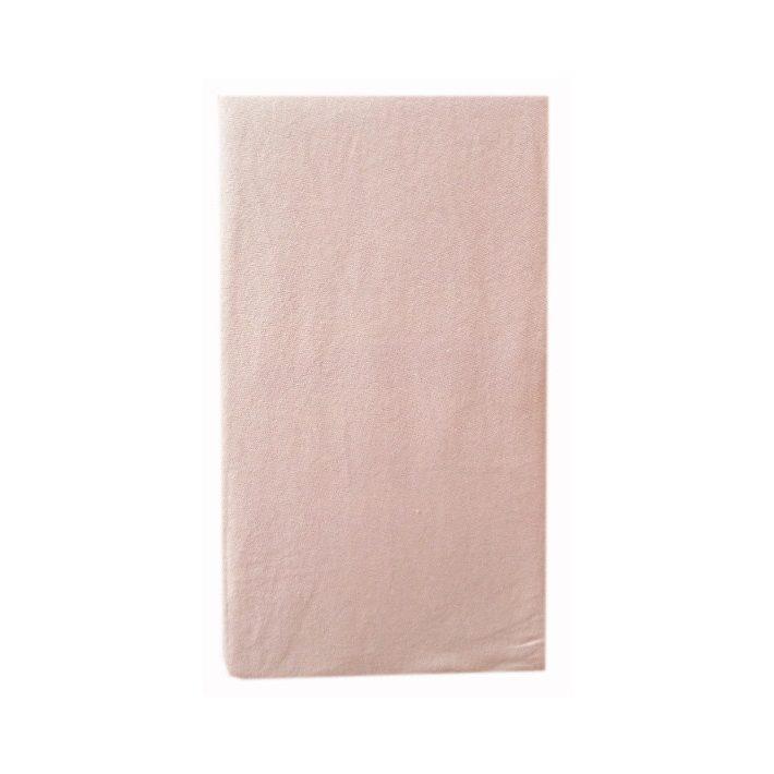 Malena Lila Pamut Gumis  Lepedő 100 x 200 cm
