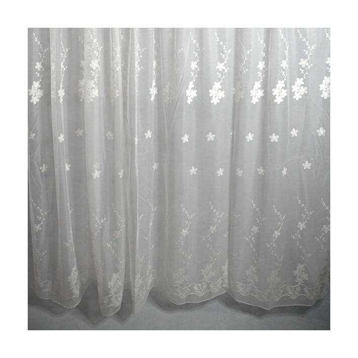 Barbi Rózsaszín Organza Készfüggöny - készre varrt 250x300cm