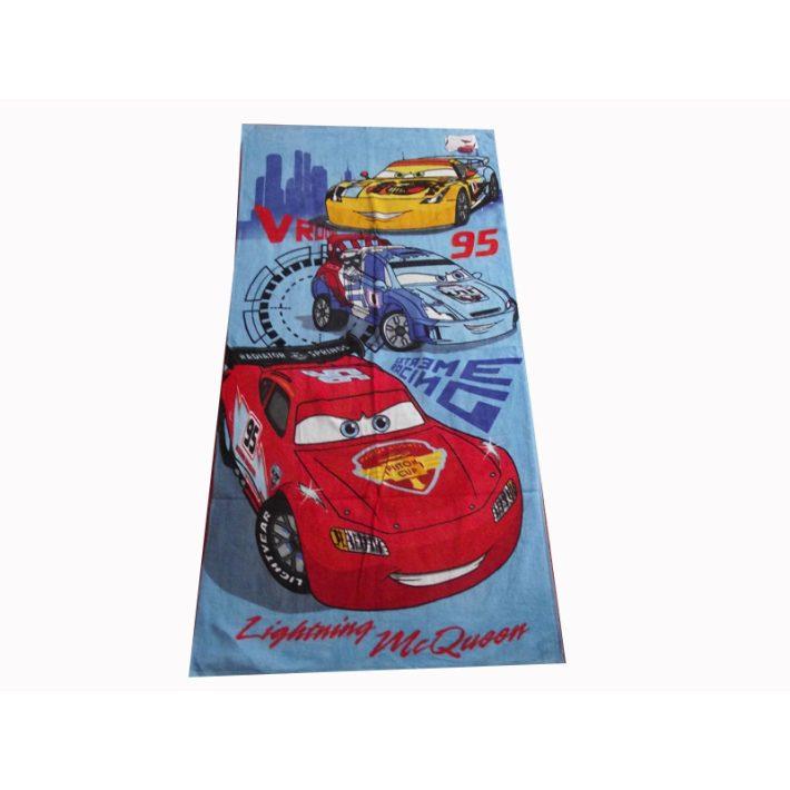 Cars Friends Verdák kék Disney Törölköző 70x140cm