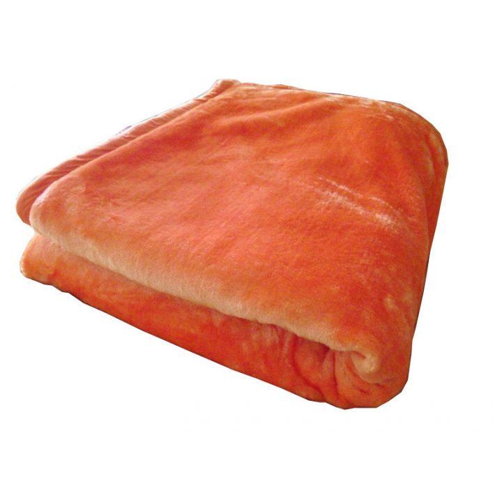 Brenda narancs ágytakaró pléd 150 x 200 cm
