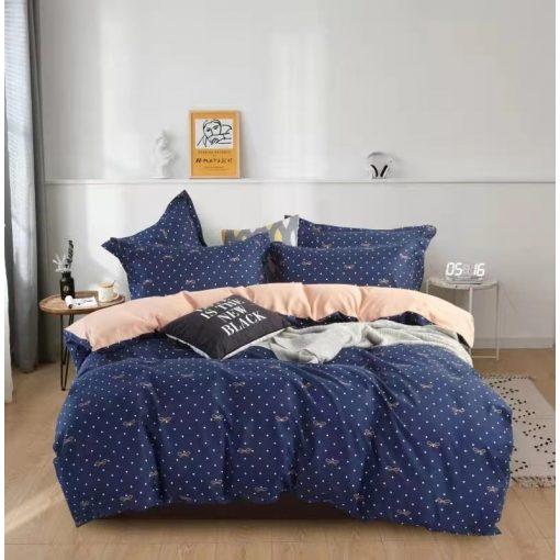 Ágynemű garnitúra fehér - rózsaszín