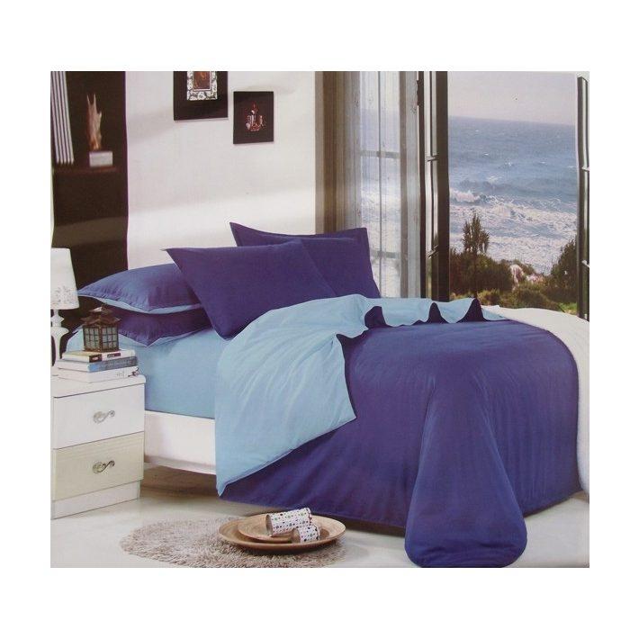 Ágynemű Nagy Paplanos Kék Anriett 6 részes