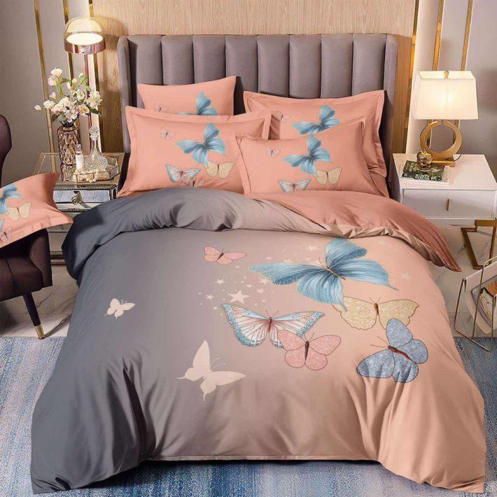 3D Párizs Eiffel Torony ágyneműhuzat 7 részes Szürke