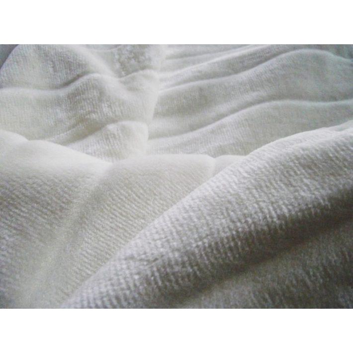 Leondiasz full-vastag fehér pléd ágytakaró