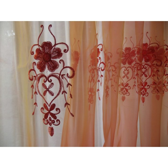 Dorotthy Narancs Organza Függöny 250 x 250 cm