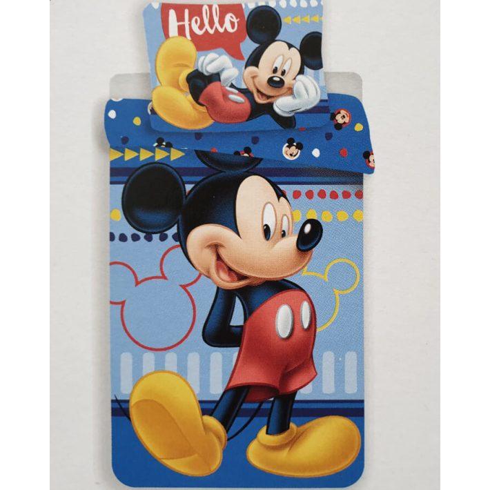 Hős Mickey gyerek ágynemű garnitúra 2 részes