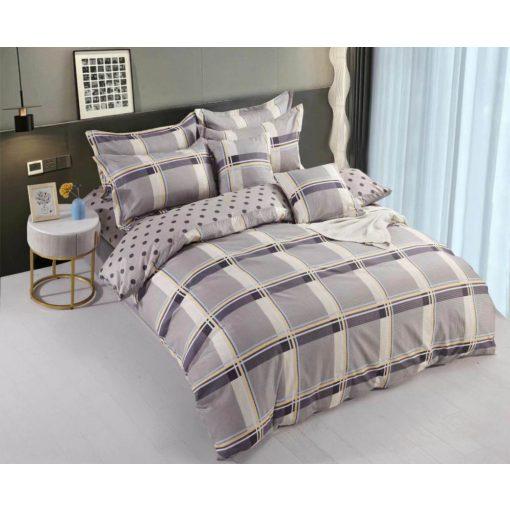 Krém bézs pamut ágynemű garnitúra 7 db-os