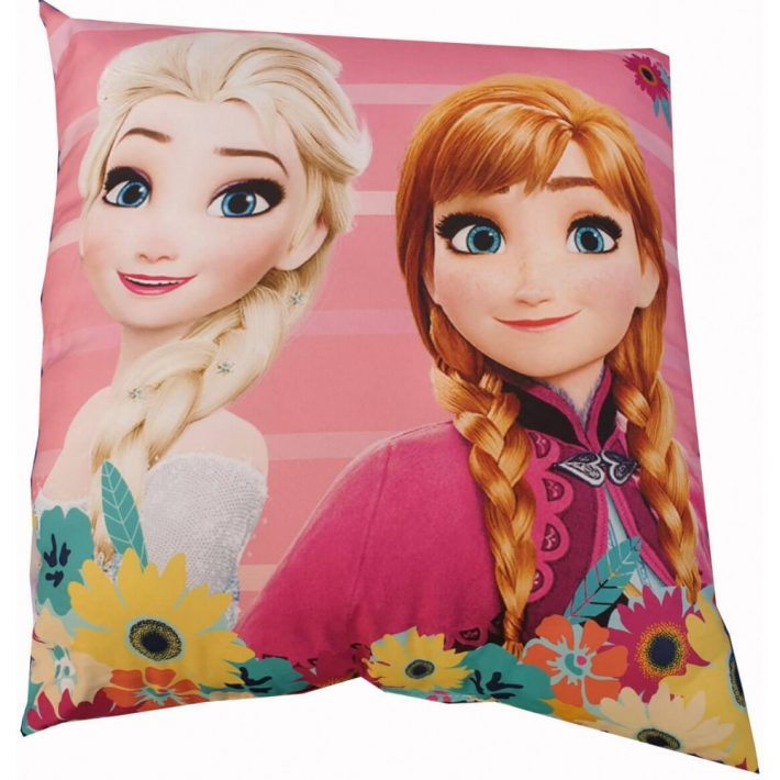 Anna és Elza Disney Frozen Jégvarázs Kispárna 40 x 40 cm
