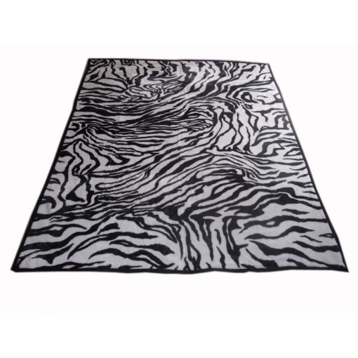 Maurízio  Fekete - Fehér Ágytakaró Pléd  200 x 240 cm