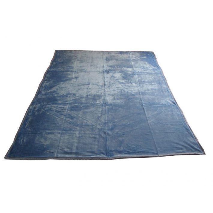 Nieve Kék-Fehér Pléd Ágytakaró 200 x 240 cm