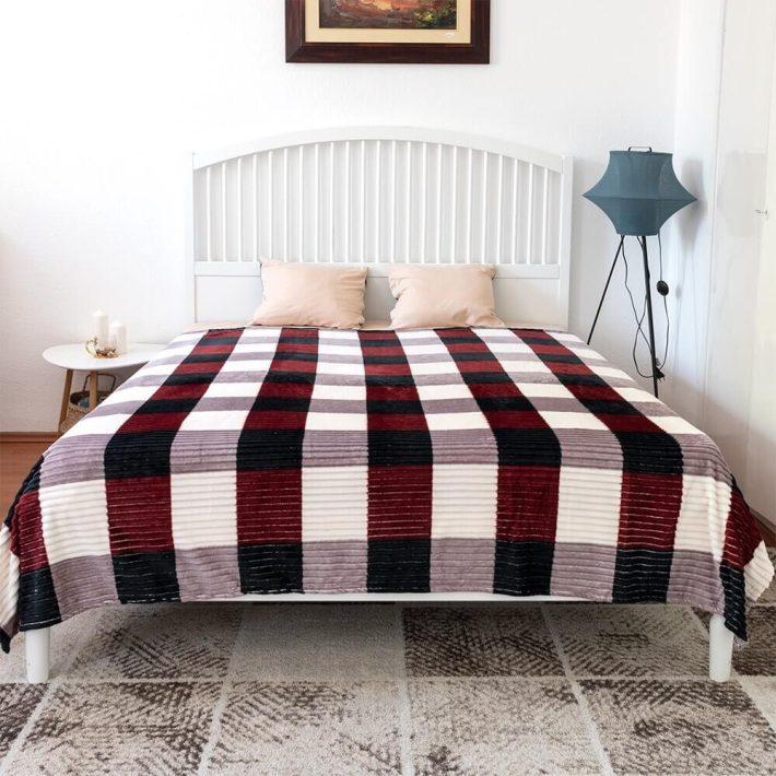 Maryam bézs drapp ágytakaró 200x240 cm