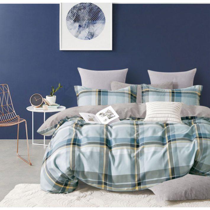 Jeans Kék Vidám Maci Ágyneműhuzat 7 részes pamut
