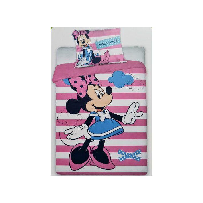 Minnie Mouse Gyerek Pamut Ágyneműhuzat 2 részes garnitúra