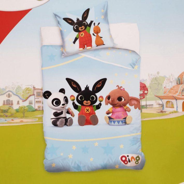 Bing Nyuszi Ovis Gyerek Ágynemű 2 részes 100% Pamut 100 x 135 cm