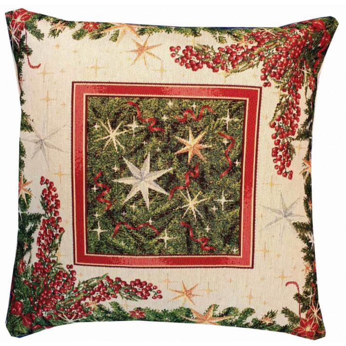 Csillag Magyal Karácsonyi Díszpárna 40 x 40 cm