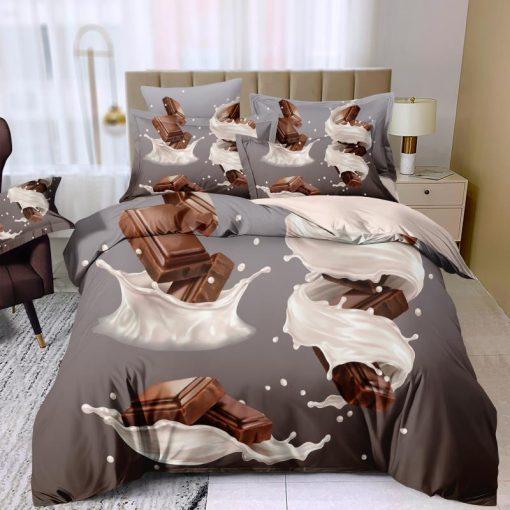 Csupa csoki ágyneműhuzat garnitúra 3 részes