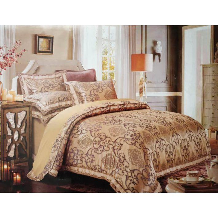 Ó-arany szatén ágynemű 6 részes Valentin napra