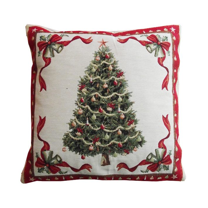 Karácsonyfa díszpárna