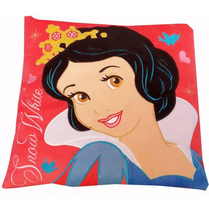Disney Hófehérke Hercegnő Kispárna Piros Színben 35 x 35 cm