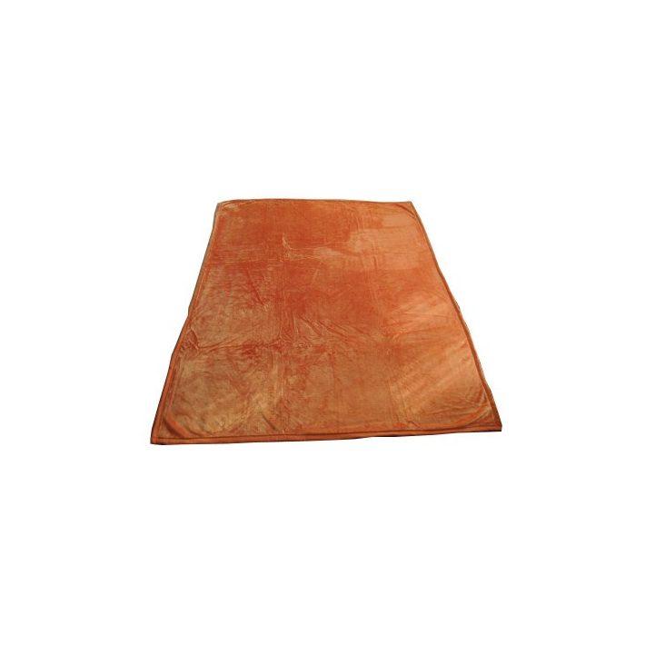 Callandra Narancssárga Ágytakaró Pléd 200x240cm