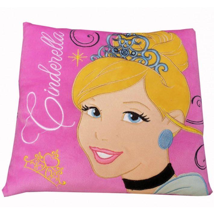 Gyönyörű Cinderella Hercegnő Kispárna 35 x 35 cm