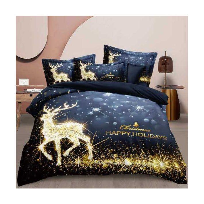 Isabelle Szerelmes Pamut Ágyneműhuzat Párizs Eiffel Torony 7 részes kék