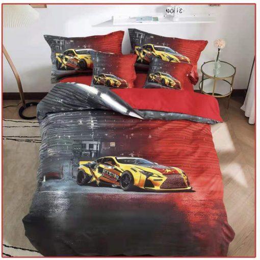 Kafka macis gyerek ágyneműhuzat kék 3 részes