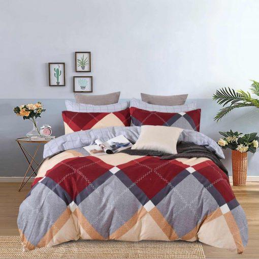 Neon Zöld pamut ágyneműhuzat garnitúra 3 részes