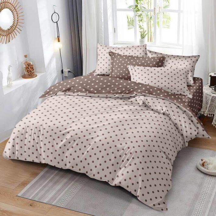 Rozalinda 6 részes nagy paplanos Rózsaszín Pamut Ágyneműhuzat