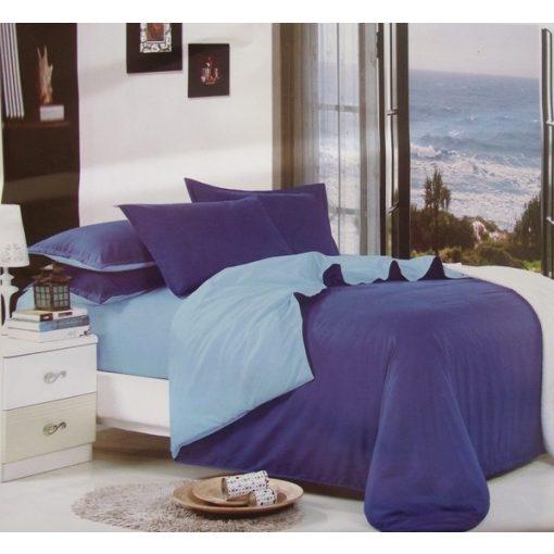Narika kék pamut ágynemű garnitúra 3 részes