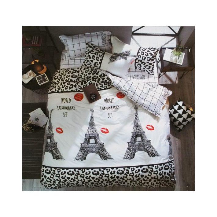 Őszike Dupla paplanos Párizs ágynemű garnitúra 6 részes