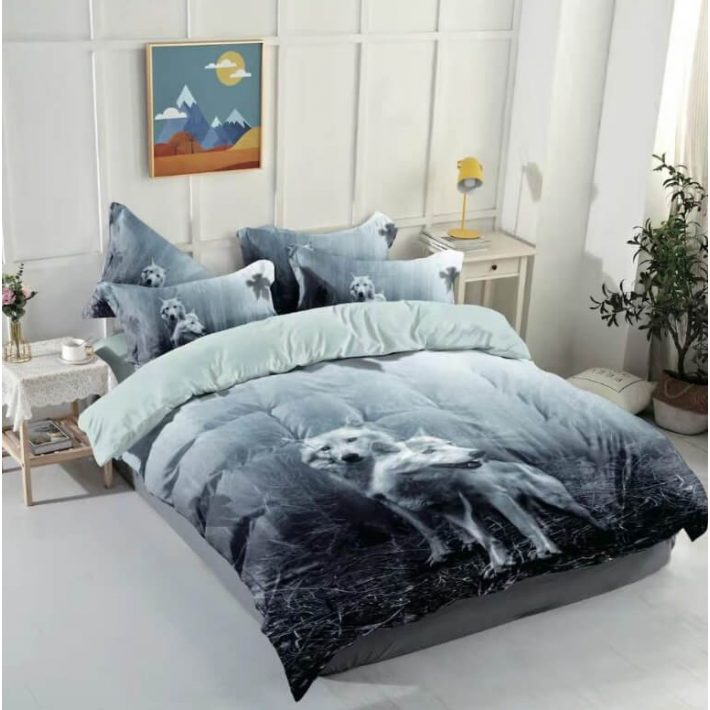 Pascal Kölyök Kutya és Cica 3D Állatos Ágynemű 3 részes
